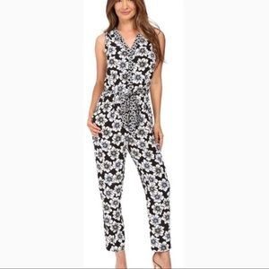 Kate Spade Hollyhock Floral Jumpsuit Size Small
